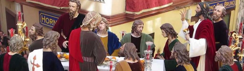 Resultado de imagen de hermandad de la ultima cena de SEVILLA