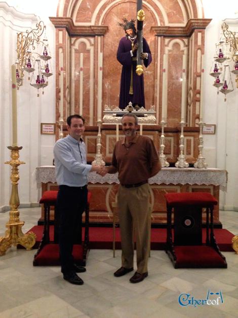Firma Hermandad del Nazareno Huelva