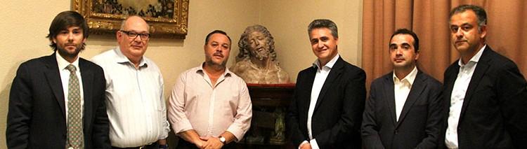Ghercof en la Hermandad de Santa Marta