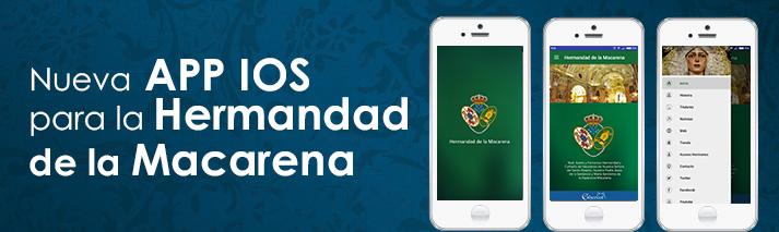 Nueva aplicación iOS para la Hermandad de la Macarena
