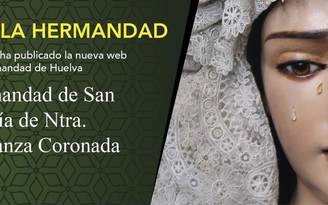Nueva web de la Hermandad de San Francisco (Esperanza de Huelva)