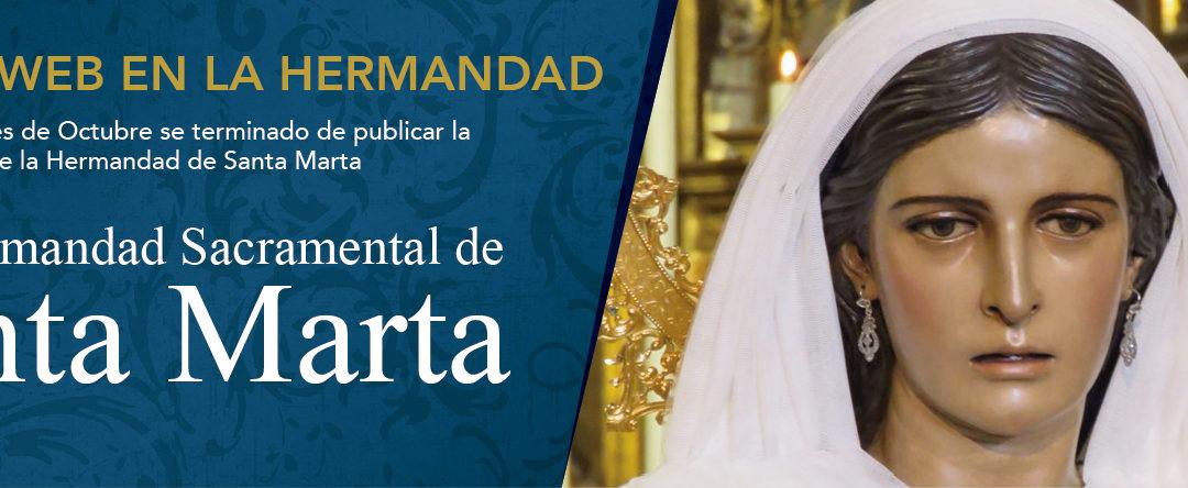 HERMANDAD DE SANTA MARTA. Publicación de la nueva Intranet de Ghercof.